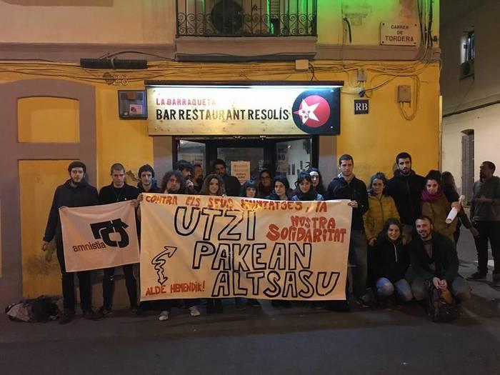 #Altsasu manifestaziorako atxikimenduak eta eguneko irudiak - 20