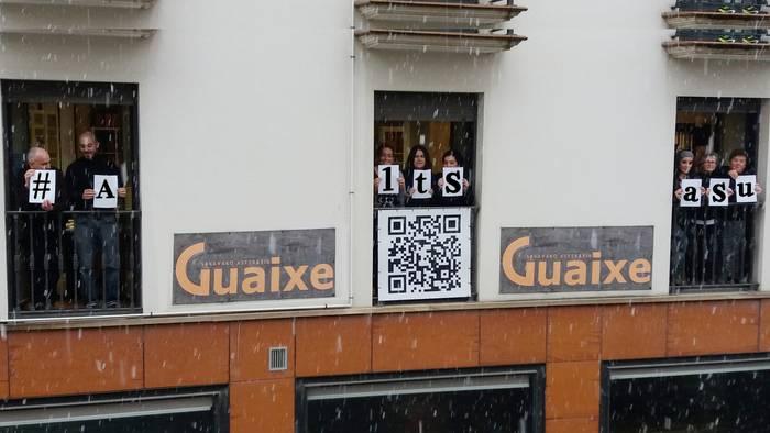 Guaixe Fundazioko langileak