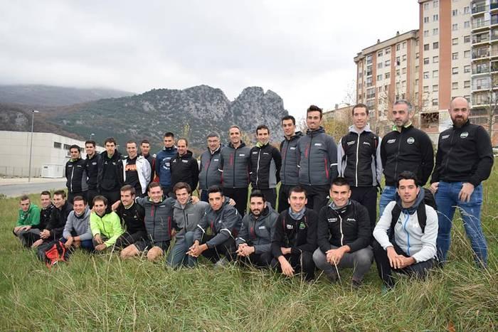 Euskadi-Murias taldeari agur