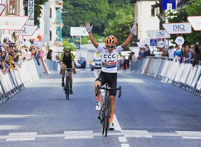 Moolman-Pasiok irabazi zuen atzo Emakumezkoen Nafarroako Klasikoko lehen etapa