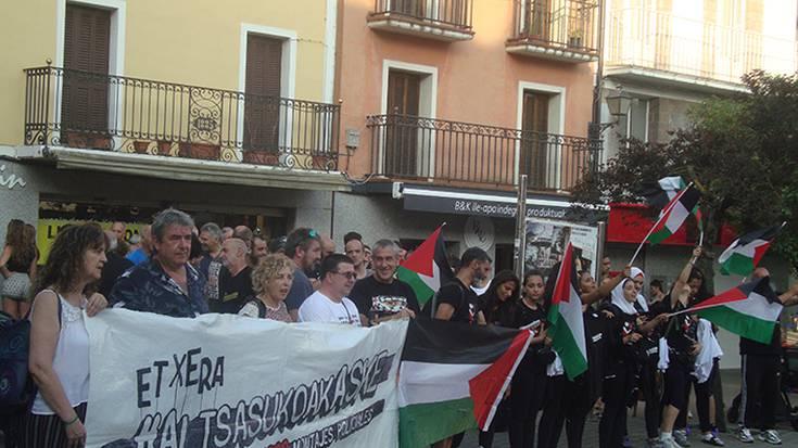 Palestinarrak altsasukoak aske aldarrikatzen