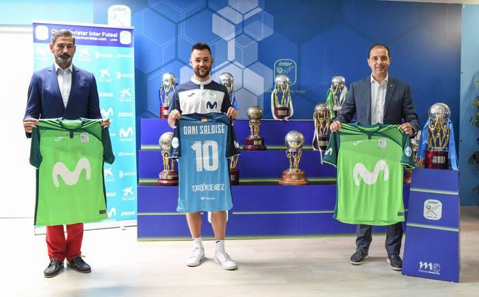 Inter Movistarrek ofizial egin du Dani Saldiseren fitxaketa