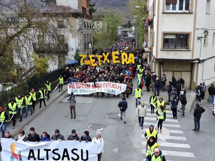 Altsasuko manifestazioa kalez kale - 5