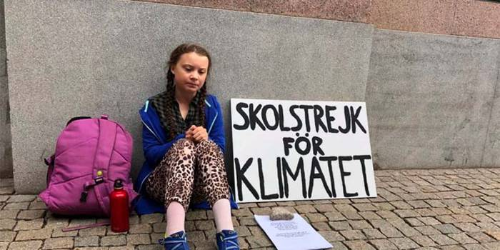 Greta Thunberg-en negua