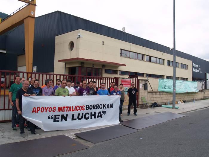 Apoyos Metalicos enpresa itxi nahi du zuzendaritzak