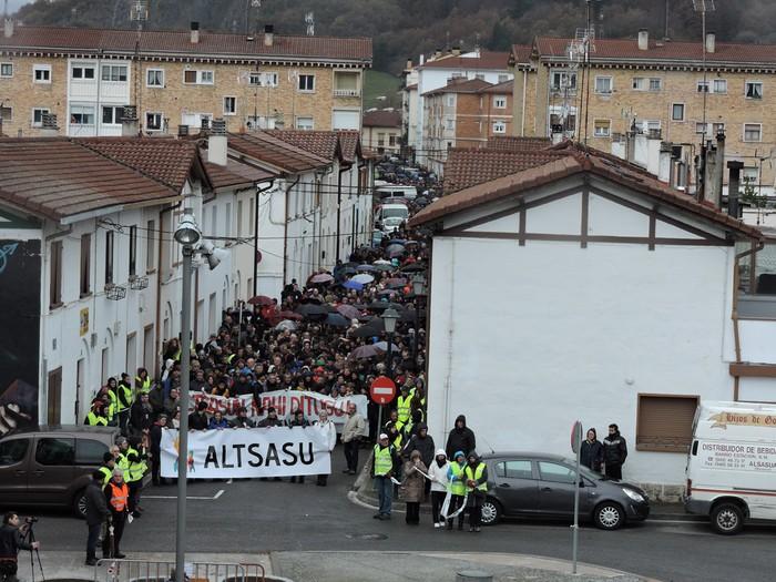 Altsasuko manifestazioa kalez kale - 24