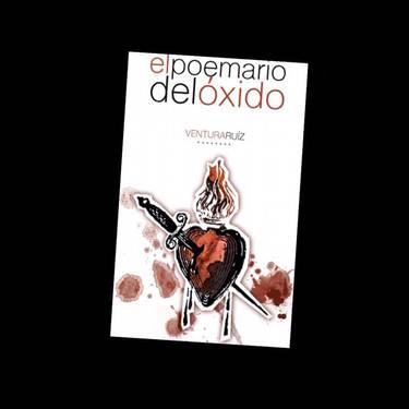 El poemario del oxido liburuaren aurkezpena Ventura Ruiz egilearekin eta Blanca Mas Rubio gitarra jolearekin
