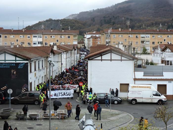 Altsasuko manifestazioa kalez kale - 23