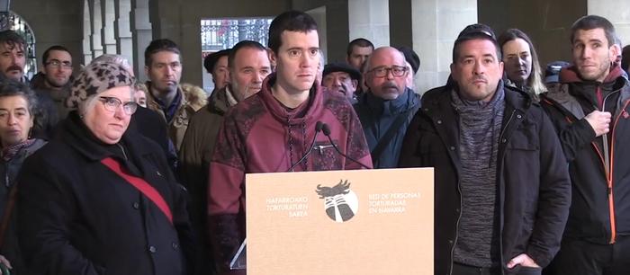 Nafarroako Gobernuari tortura ikertzeko eskaera