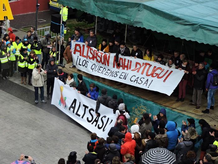 Altsasuko manifestazioa kalez kale - 27