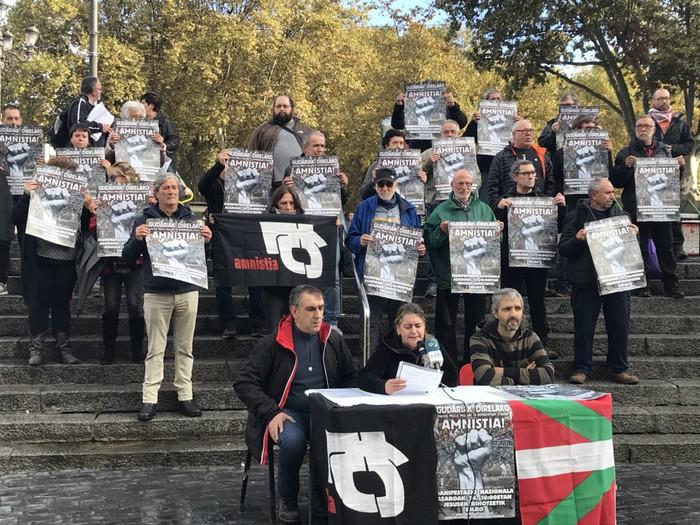 Amnistiaren aldeko eta errepresioaren kontrako Mugimenduak manifestazioa deitu du Bilbon