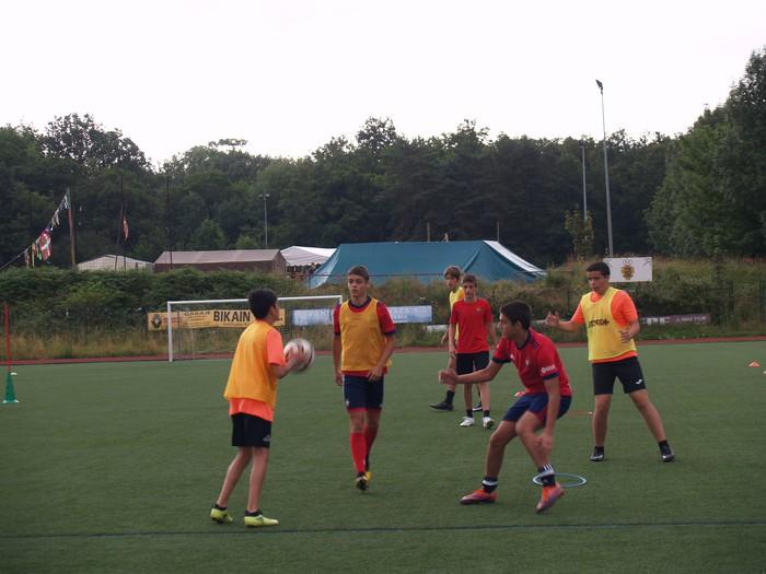 Sakanako Futbol Campusa: bigarren txanda lanean - 14