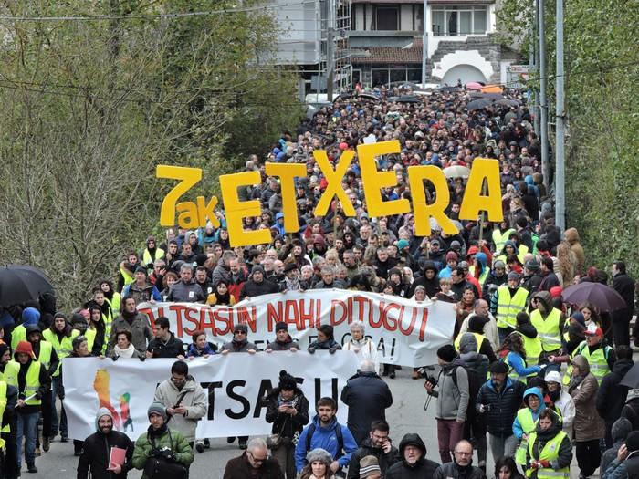 Altsasuko manifestazioa kalez kale - 4