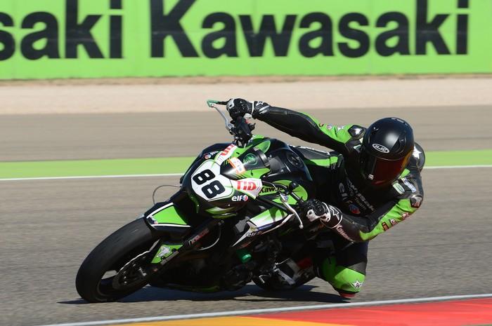 Olias laugarrena Kawasaki Z Cup txapelketan