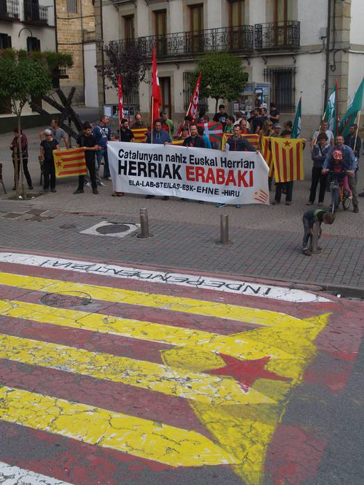 Espainian preso politikorik ez dago, omen