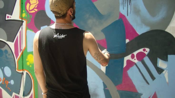 """""""Grafitiak egitea ez da zaila"""""""