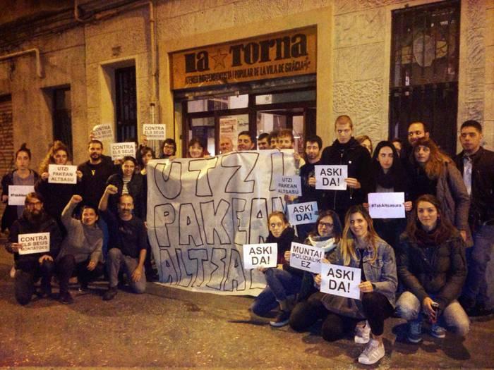 #Altsasu manifestaziorako atxikimenduak eta eguneko irudiak - 18