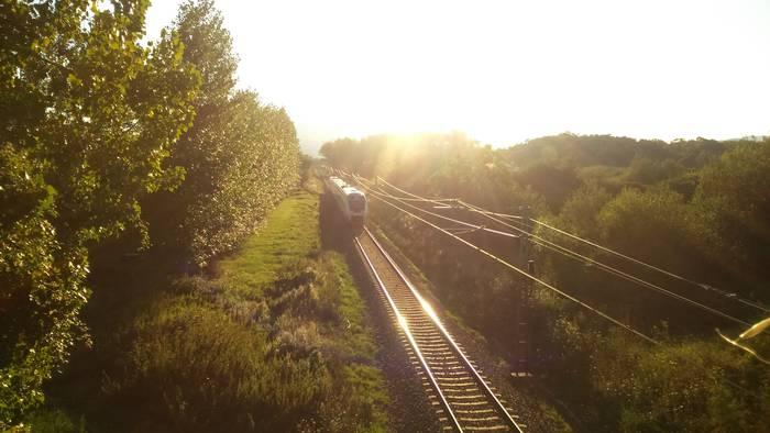 Trena Urdiaindik pasatzen