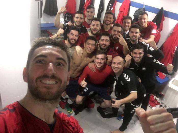 Palma Futsalen kontra irabazi eta gero, laugarrena da Osasuna Magna