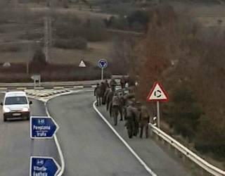 Militarrak Urbasa-Andiako bidean