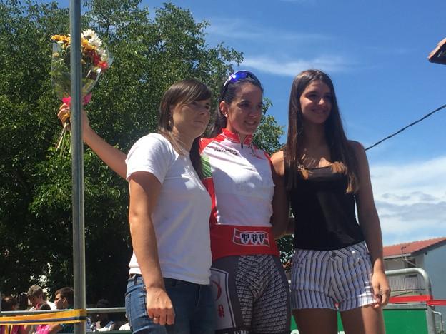 """Maialen Aramendia: """"Oso pozik nago jaioterrian Euskadiko txapelduna izatea lortu izanagatik"""""""