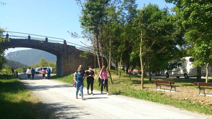 Plazaola turismo eredua definitzen ari da