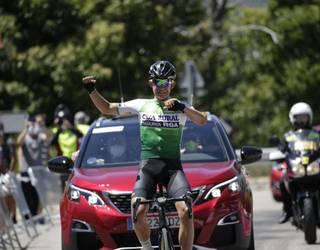 Josu Etxeberriak Zamorako Itzuliko 3. etapa irabazi du eta lider berria da
