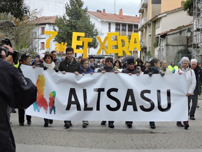 Altsasuko manifestazioa kalez kale - 10
