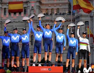 Imanol Erbitiren Movistar Team, Vueltako talderik onena