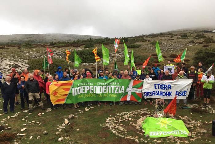 Euskal lurraldetasuna Andiatik aldarrikatzen