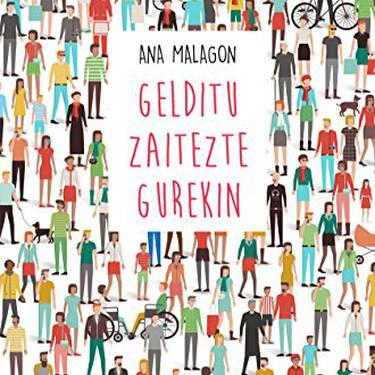 Euskarazko literatur solasaldia: Gelditu zaitezte gurekin Ana Malagon idazlearena