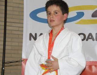 Unai Mendia, Nafarroako judo txapeldunordea