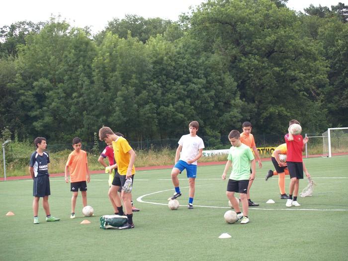 Sakanako Futbol Campusa: bigarren txanda lanean - 8