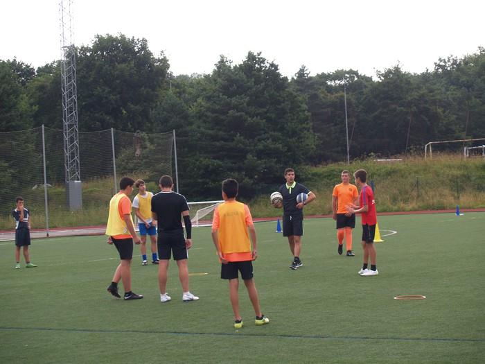 Sakanako Futbol Campusa: bigarren txanda lanean - 11