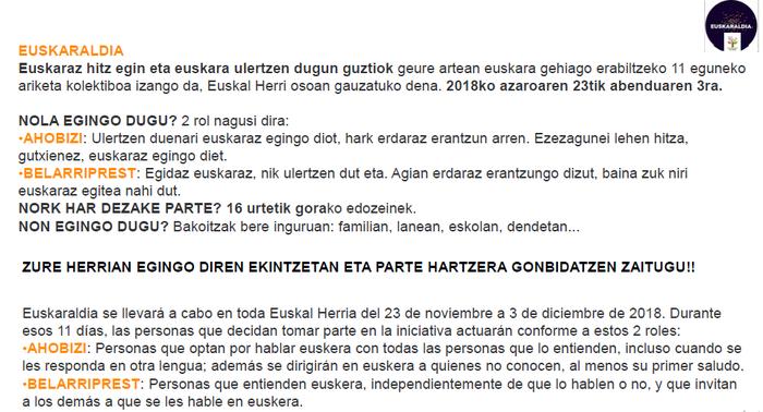 SAKANAKO HERRI ESKOLAK EUSKARALDIAN - 2
