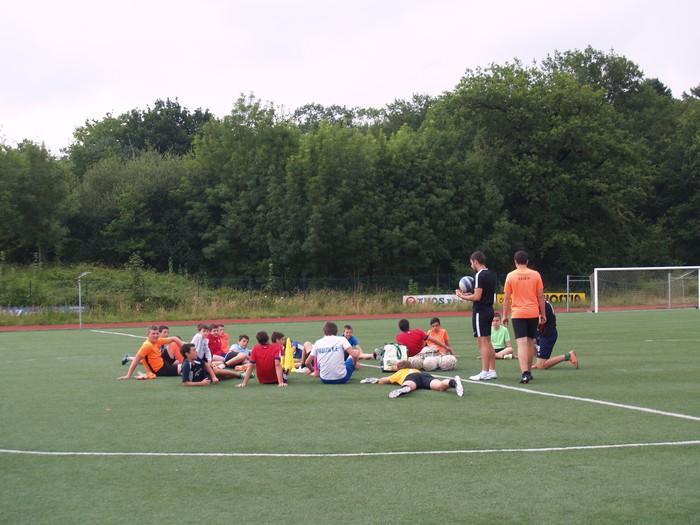 Sakanako Futbol Campusa: bigarren txanda lanean