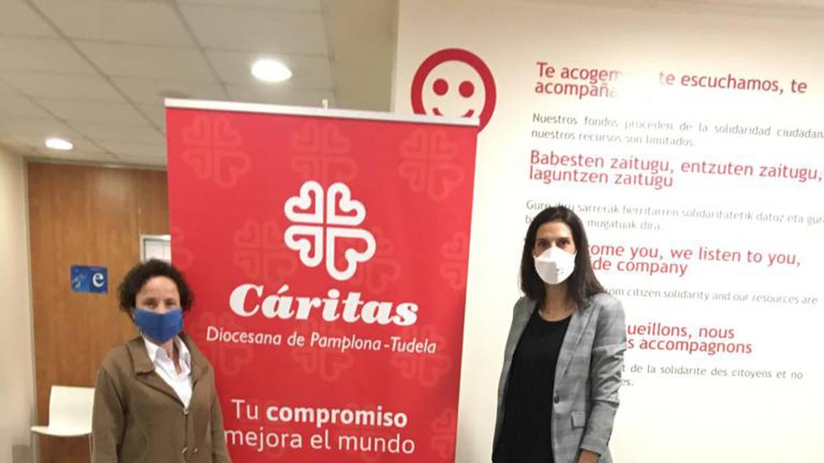 Hydrok Caritasi donazioa egin dio