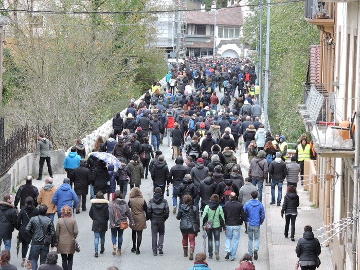 Altsasuko manifestazioa kalez kale - 2