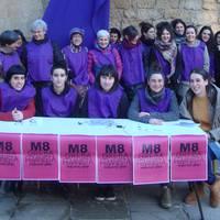 Sakanako Mugimendu Feministaren M8 prentsaurrekoa