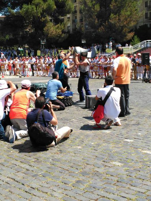 Ibero eta Irañeta txingetan eta Lasarte motozerrarekin