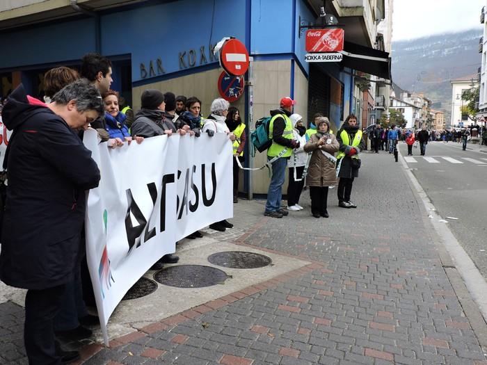 Altsasuko manifestazioa kalez kale - 11