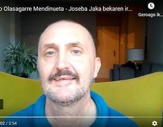 Juanjo Olasagarre Mendinuetak jasoko du Elkar Fundazioaren Joseba Jaka beka
