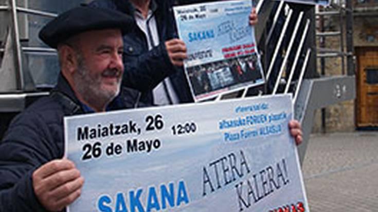 Pentsio duinen aldeko maiatzaren 26ko manifestazioa