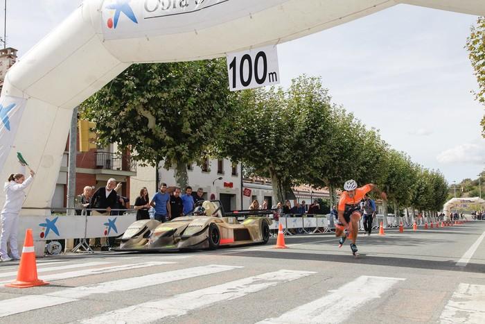 5 metrogatik Egozkueren autoa Fernandez baino azkarragoa