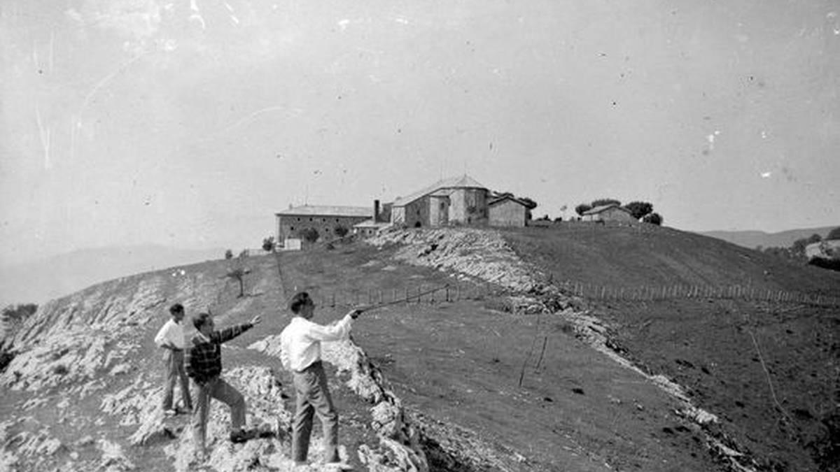Bederatziurrena Aralarko santutegian