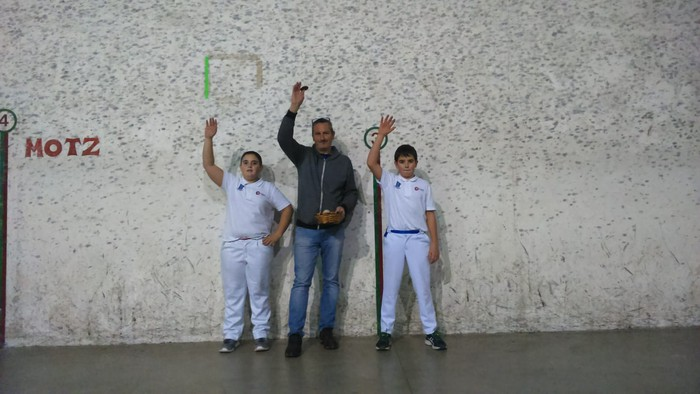 XXI. Iñigo Aritza ikastolako Pilota Txapelketa: 3. jardunaldia Olaztik hartuko du