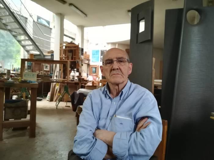 """""""Poesia guztia eskulturetan dago"""""""