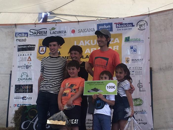 Beñat Katarainek etxeko proba irabazi zuen - 63