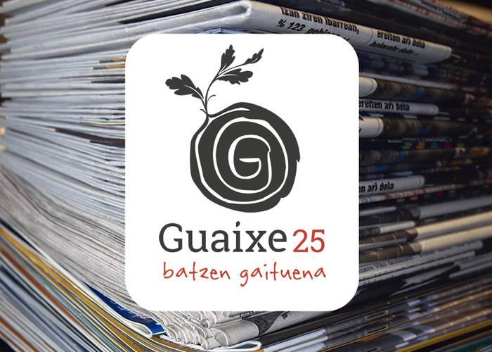 Guaixeren 25 urteak dakartzan berrikuntzak