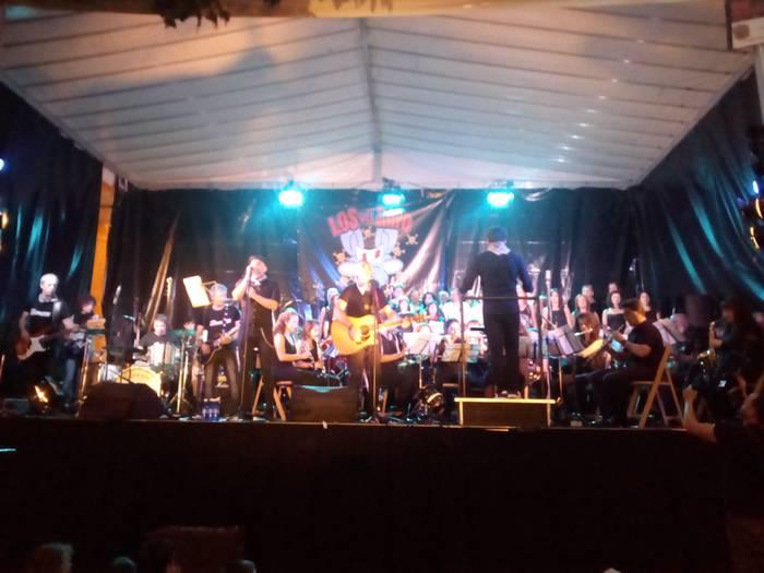 Los del Rayoren alde sinfonikoena